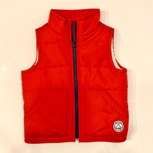GAP Baby - Toddler Warmest Vest Bright Red (3T)